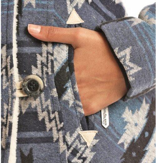 Women's Powder River Jacquard Wool Jacket