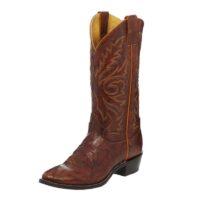 Men's Western Boot Justin Chestnut Buck 1560