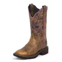 Women's Justin Boot Gypsy Distressed Tan L2918