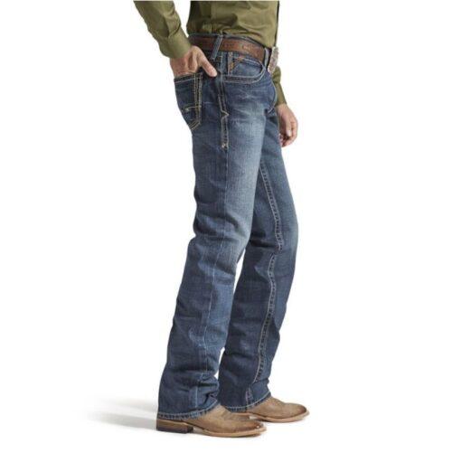 Men's Ariat Jean M5 Slim Boundary Straight Leg