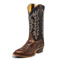 Men's Western Boot Justin Keaton Brown BR252