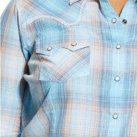 Ladies Long Sleeve Sky Shirt