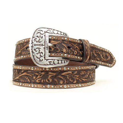 Ladies Ariat Brown Belt A1513802