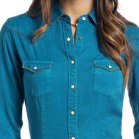 Ladies Long Sleeve Escanlante Shirt