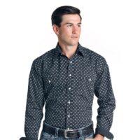 Men's LS Rough Stock Snap Shirt