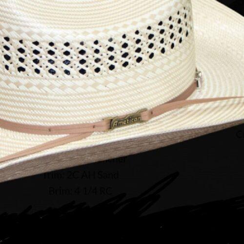American Rancher Sands Straw Hat
