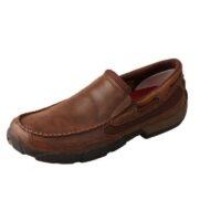 Men's Slip-On Brown Moccasin