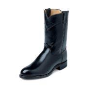 Men's Justin Jackson Roper Black Boot