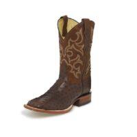 Men's Justin Truman Brown Quill Boot