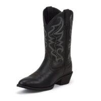 Men's Justin Jace Black Boot
