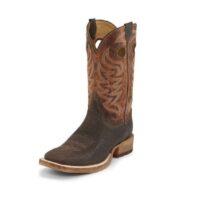 Men's Justin Caddo Brown Stone Boot