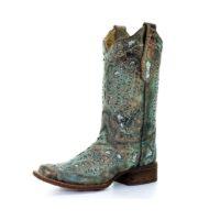 Women's Corral Metallic Bronze Boot A2955