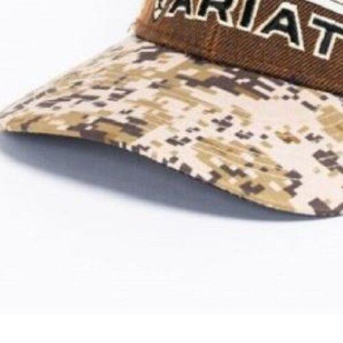 Ariat Digital Camo Snapback Cap