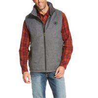 Men's Ariat Charcoal Vest 10020555