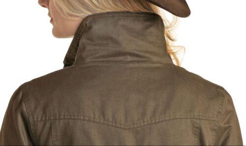 Ladies Powder River Olive Rancher Jacket