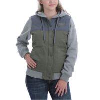 Ladies Multicolored Sweatshirt Jacket MAJ9862001