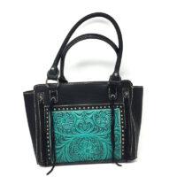 Trinity Ranch Tooled Handbag TR72-8250
