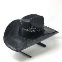 Western Rodeo King Truman Black Straw