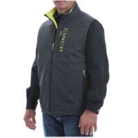 Men's Cinch Grey Conceal Carry Vest MWV1541001