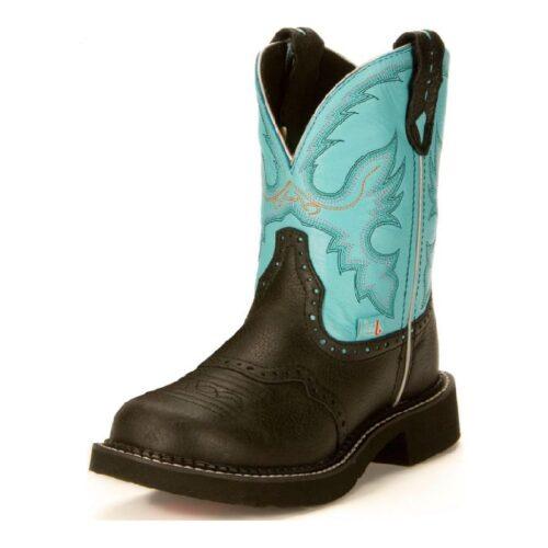 Ladies Justin Black Gypsy Boot L9905