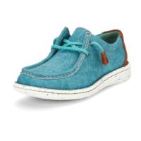 Women's Justin Turquoise Hazer Shoe JL162
