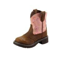 Children's Justin Esmerelda Pink Boot 9206JR