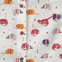Cruel Girls LS Mouse Print Blouse CTW3370002