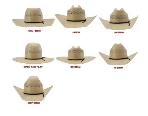 10X Steel American Open Crown Hat