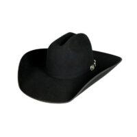 Resistol 4X Horseshoe Black Western Hat