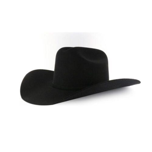 10X Rodeo King Black Felt Hat