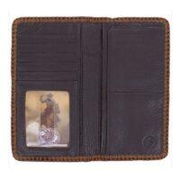 Lace Edged Vintage Wallet E80505