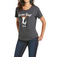 Women's Ariat Cow Gal Tee 10035796