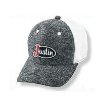Justin Heather Grey Logo Cap
