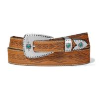 Ladies Tan Dakota Belt C51299