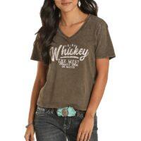 Women's Whiskey Graphic Tee