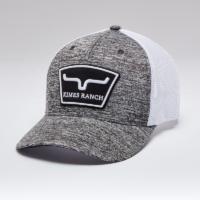 Kimes Ranch Heather Grey Hardball Trucker Cap