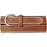 Men's Double Stitch Stockman's Belt 9349L