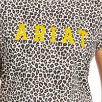 Women's Ariat SS Leopard Tee