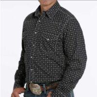 Men's LS Modern Print Shirt