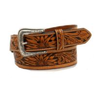Men's Nocona Tan Tooled Belt N210004108