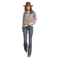 Rock n Roll Ladies LS Aztec Sweater